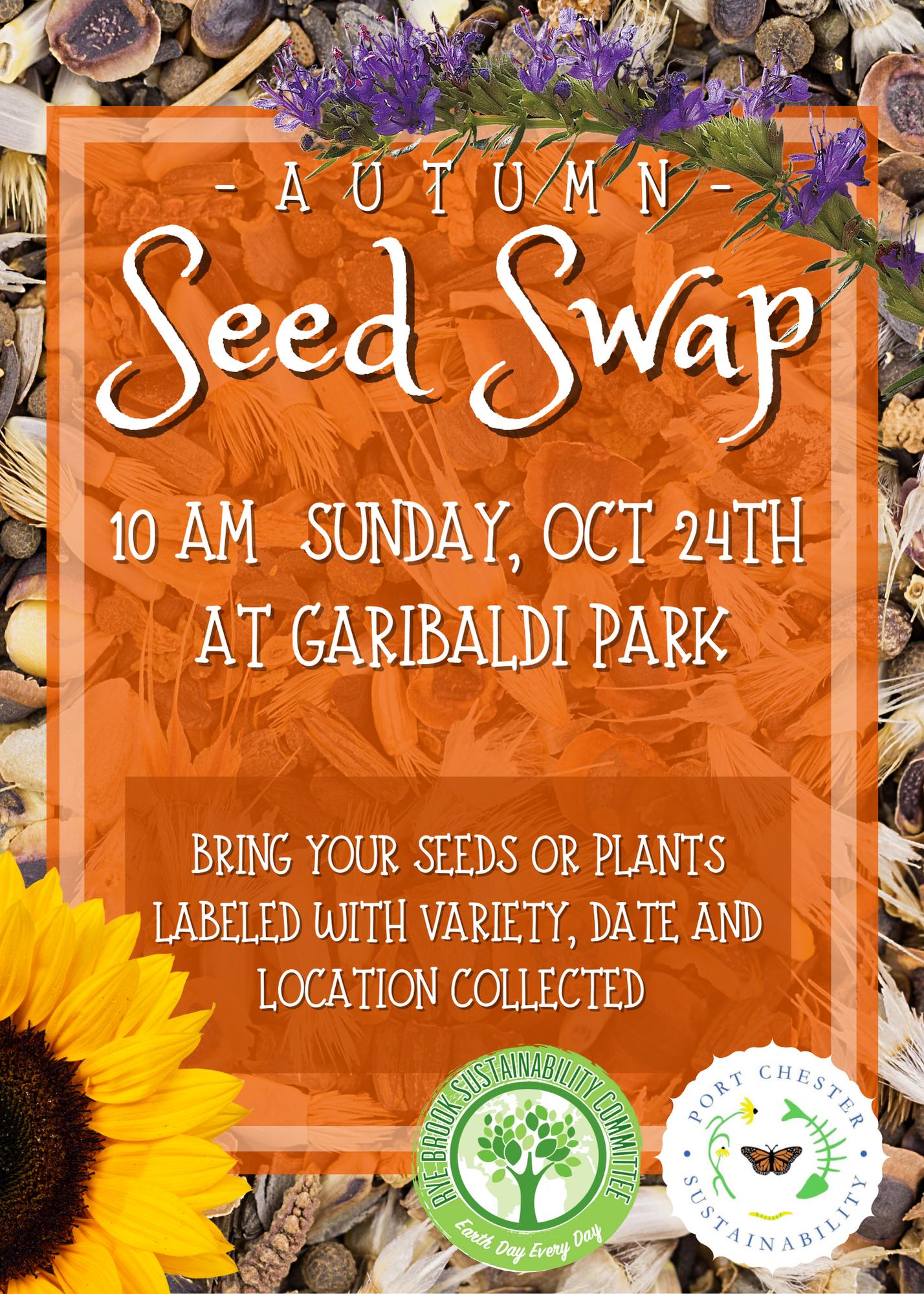 Seed Swap Flyer