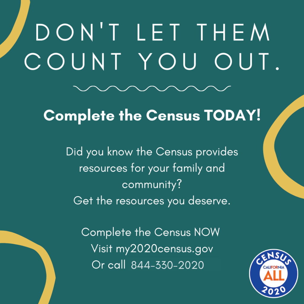 Graphic promoting Census Response