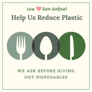 Help Us Reduce Plastic Sticker