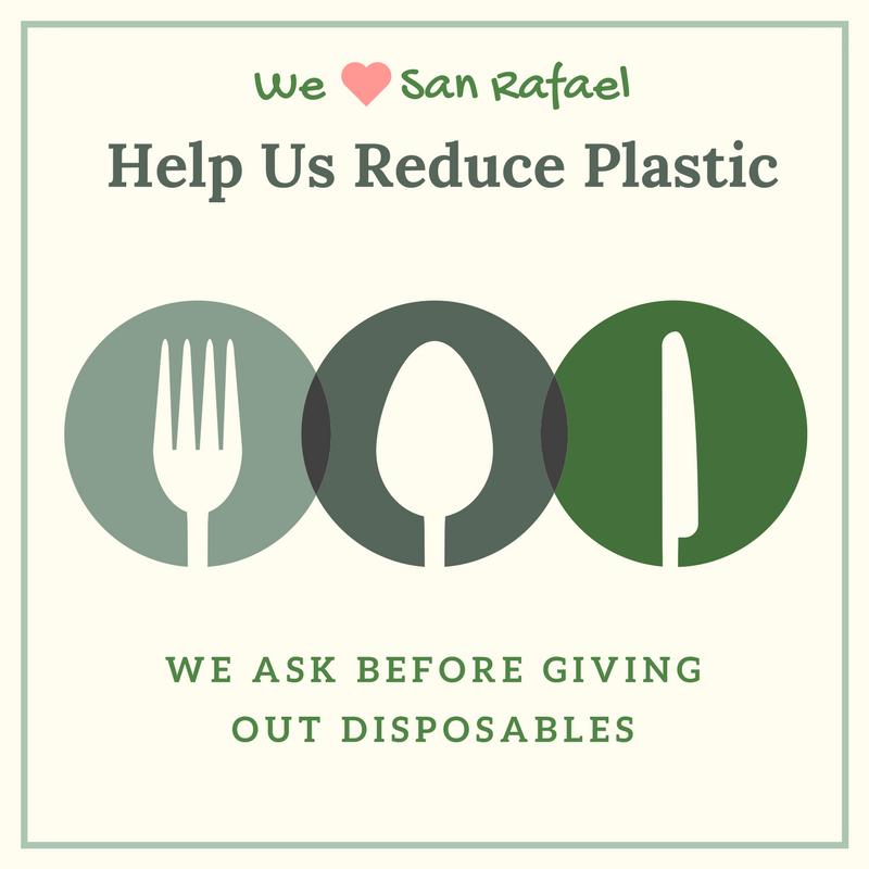 Help Us Reduce Plastic Sticker