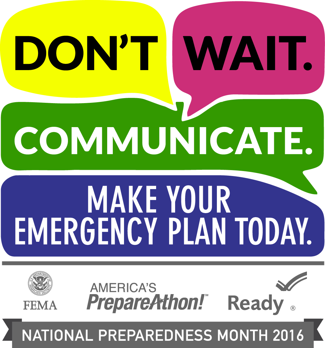 Disaster Preparedness Month