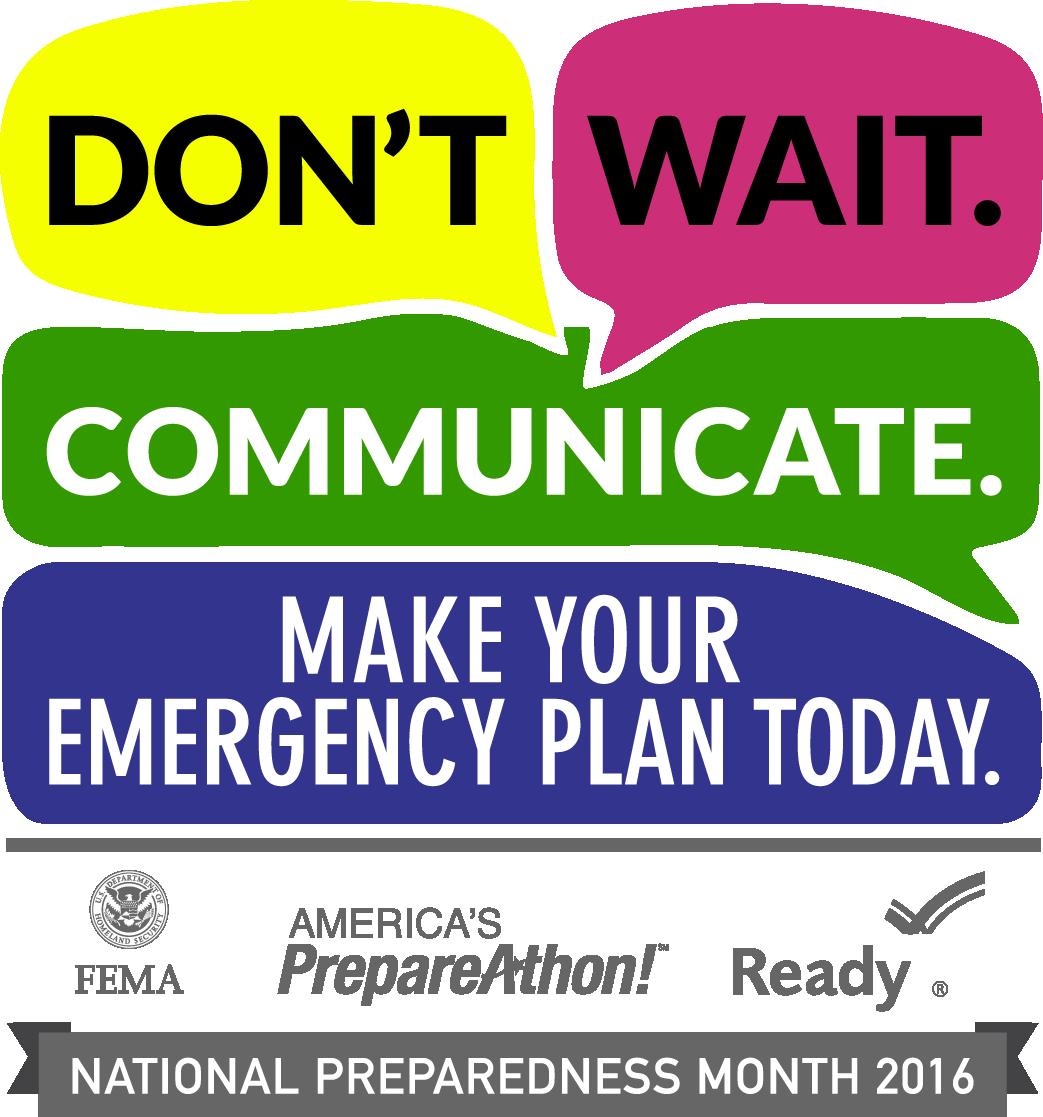 Disaster Preparedness Month