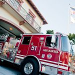 Fire Truck at Station 51