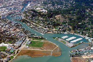 Aerial view of San Rafael