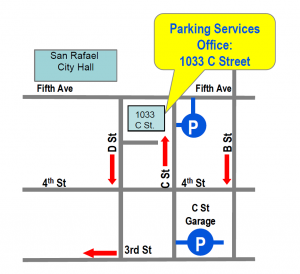 Parking Services Location mini map