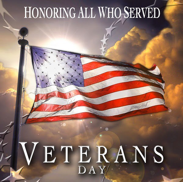 Honoring All Who Served - Veterans Day