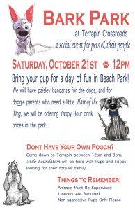 Bark Park Event