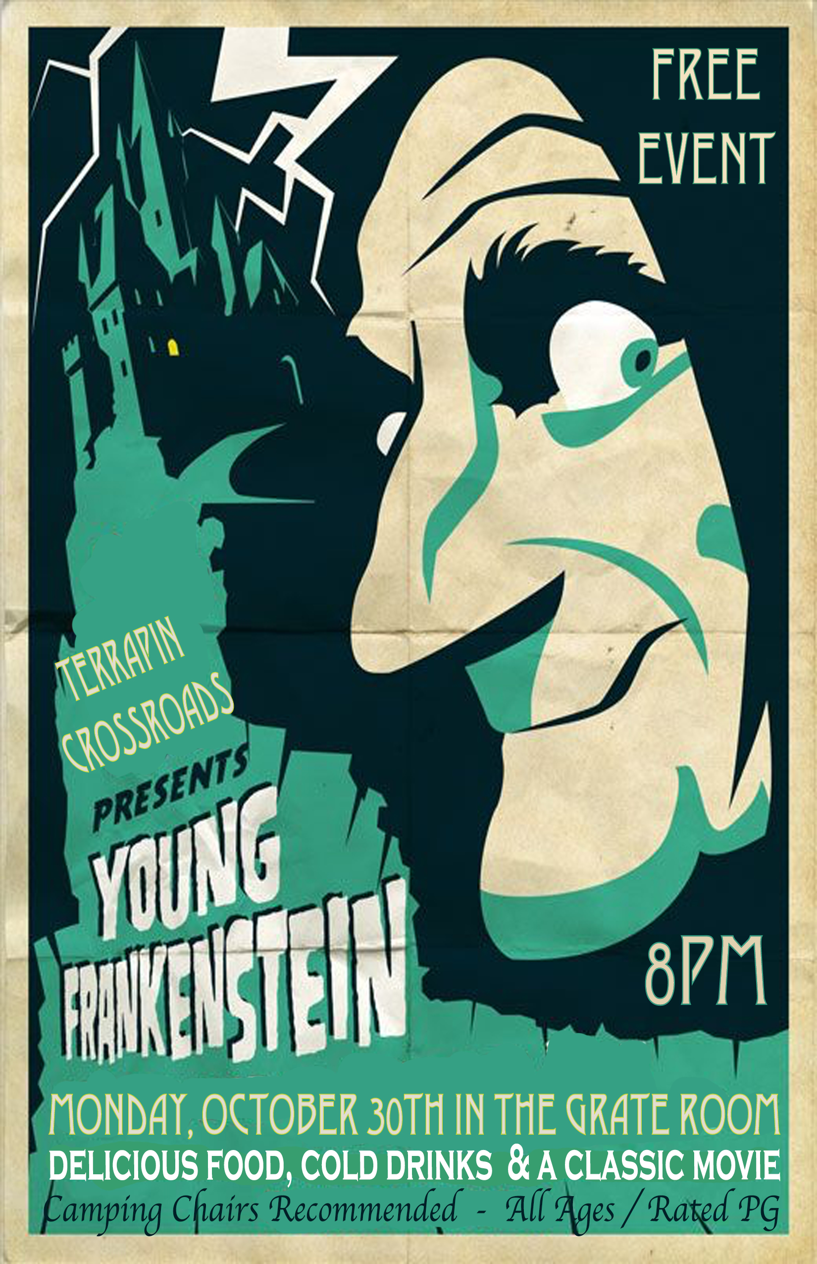 Young Frankenstein Movie Event