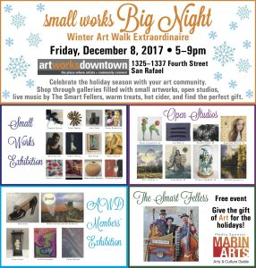 Art Works Small Works Flyer