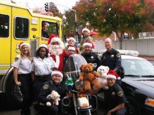Santa Cop-First Responder Photo