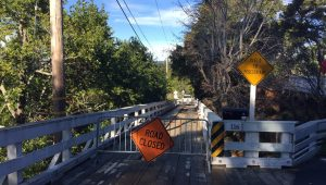 Southern Heights Bridge Closed