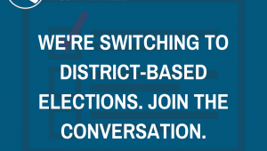 District Elections Flyer - English