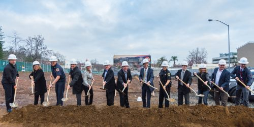 Public Safety Center Groundbreaking Ceremony