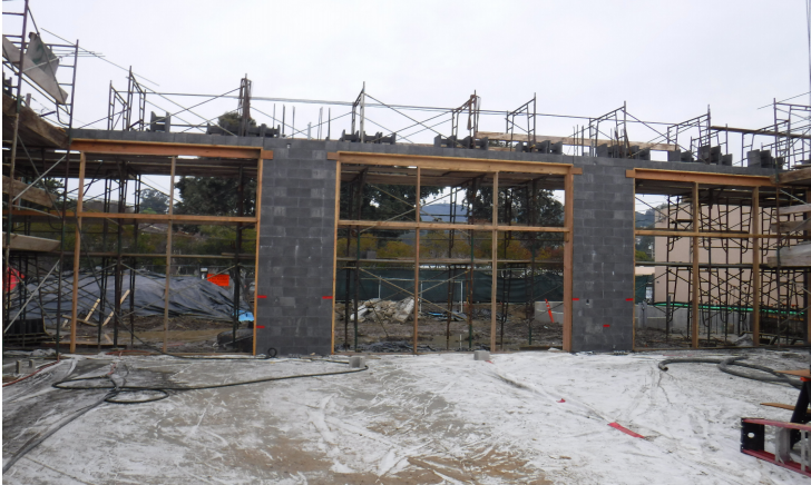 January PSC progress picture