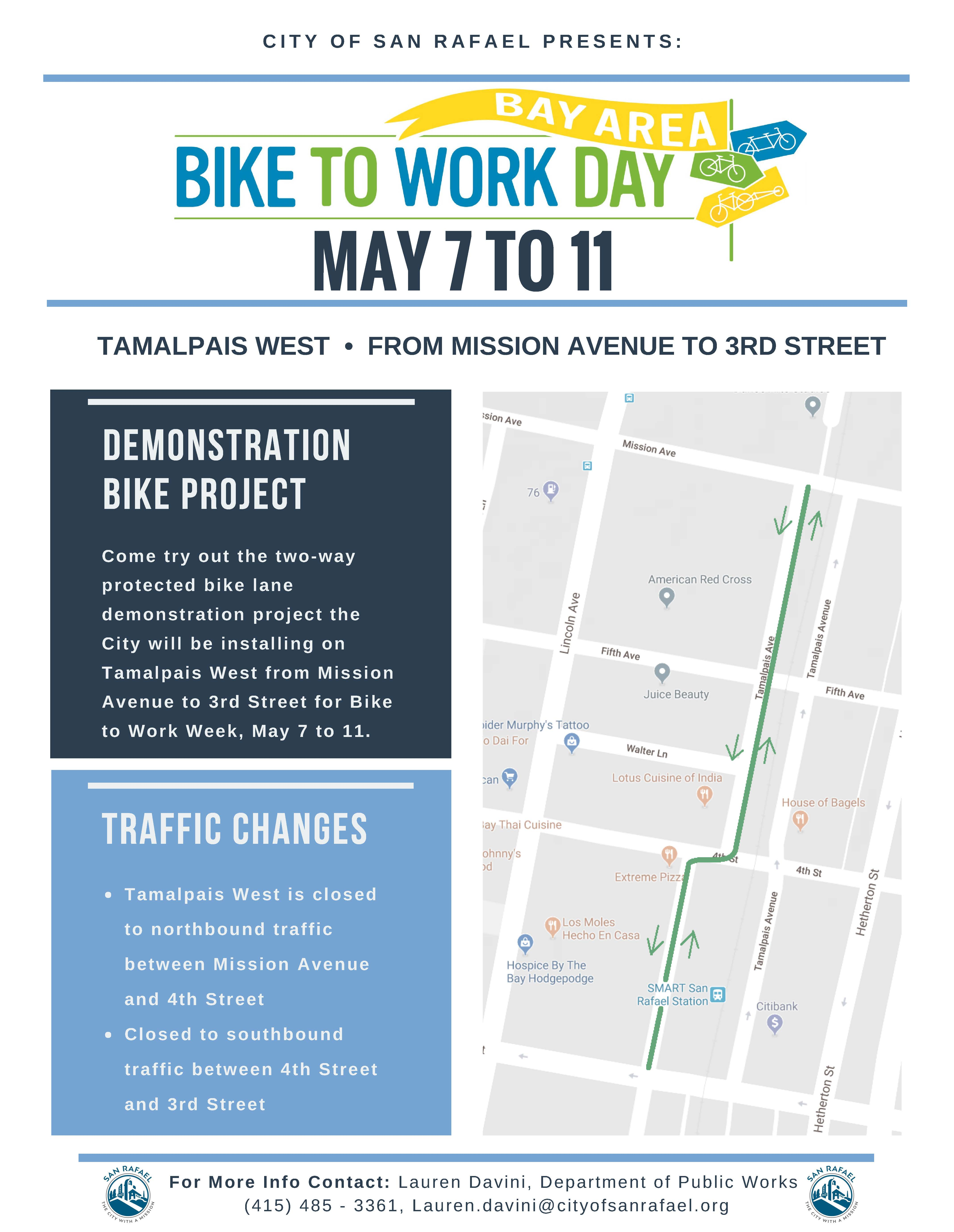 Demonstration Bike Project Flyer