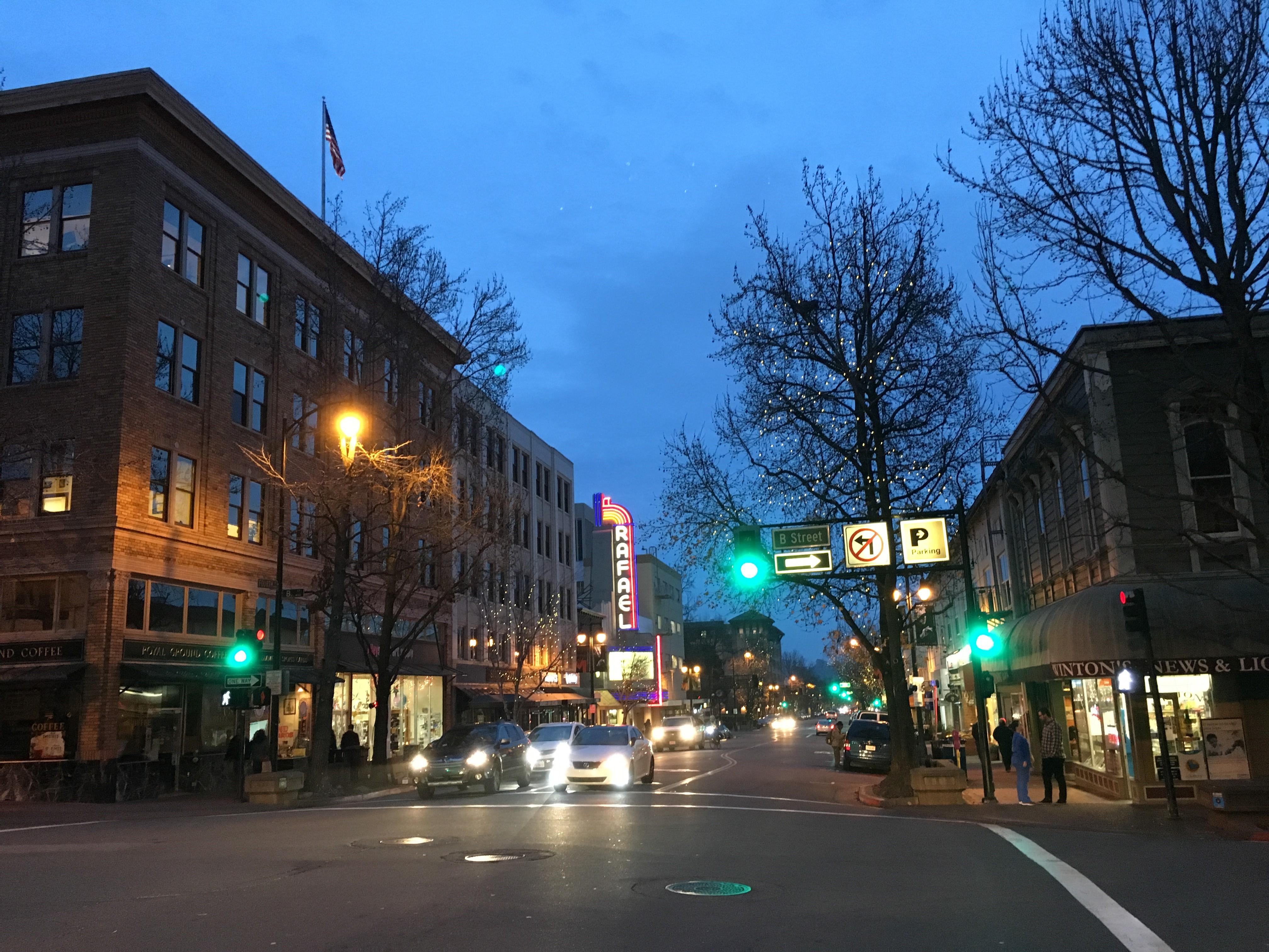 Downtown San Rafael - Andrew Faulkner