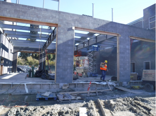 Fire Station 57 March 2018 progress