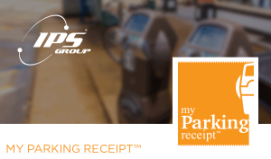 IPS parking meter receipt