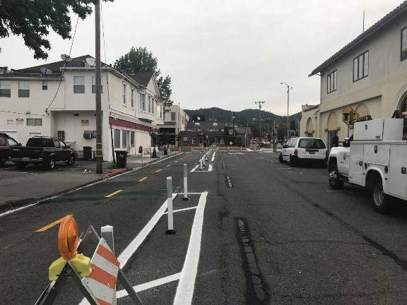 Tamalpais ave after