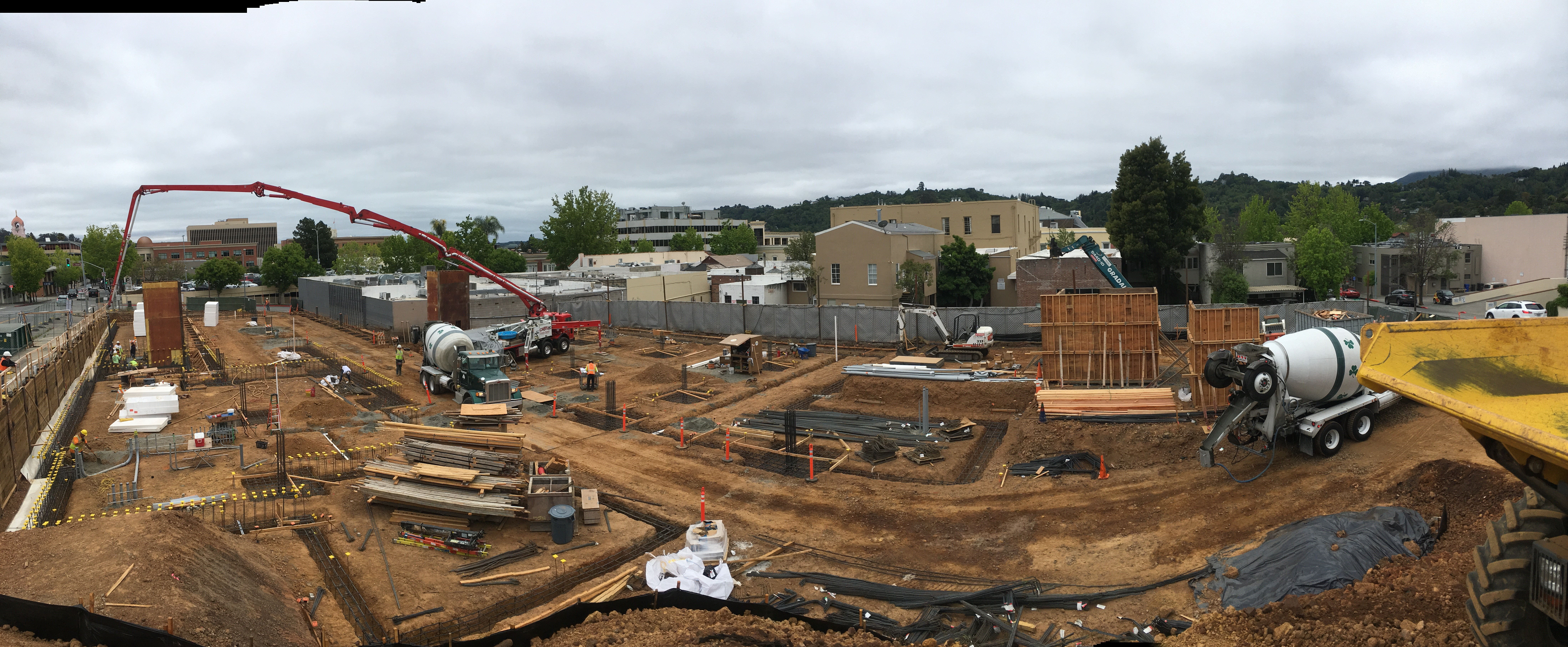 Public Safety Center – Foundation Pour
