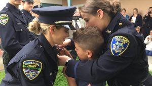 New Officer Pinning