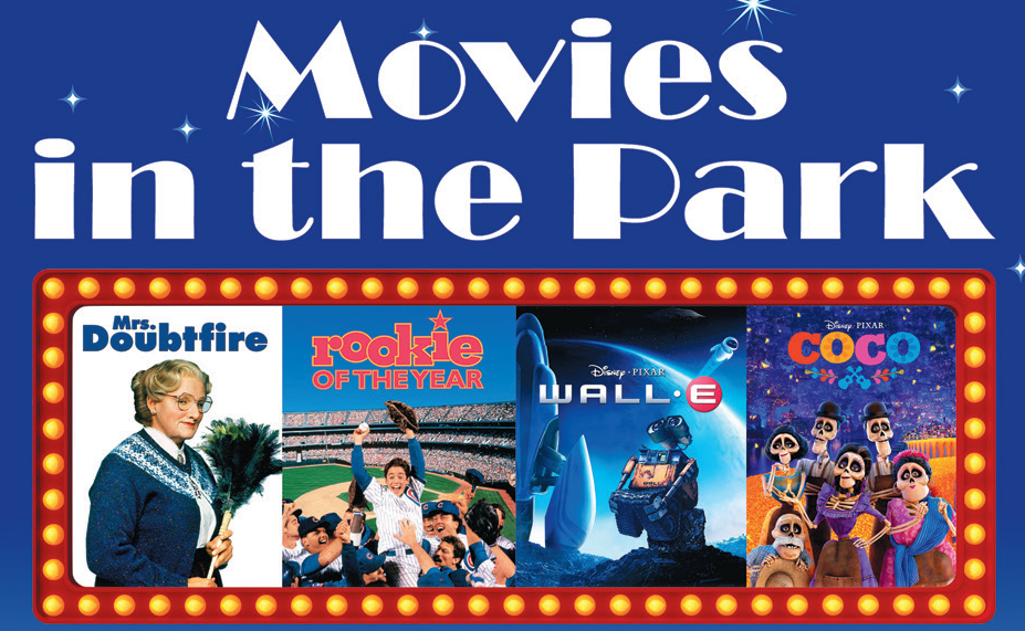 Movies in the Park 2018 Header