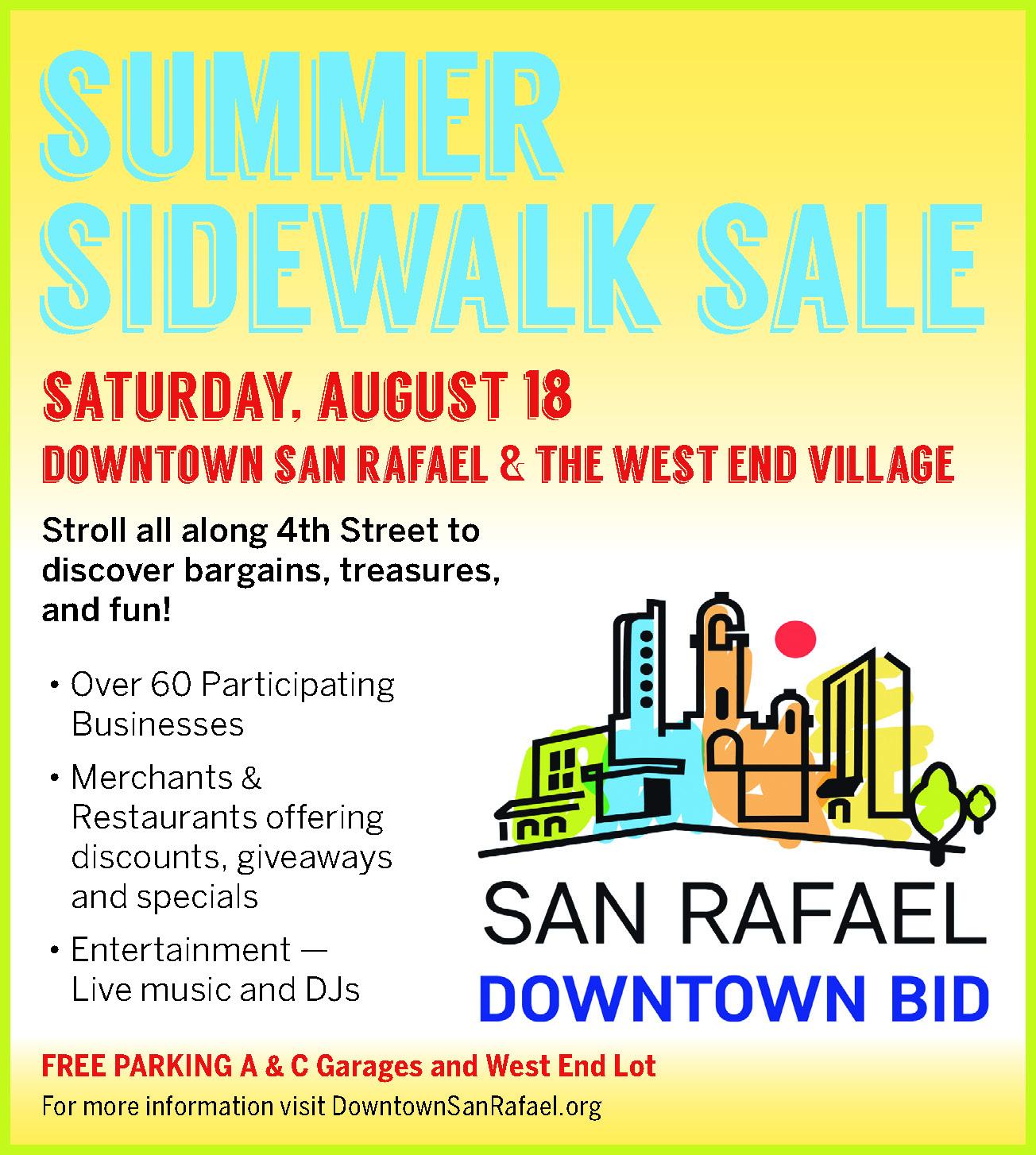 Sidewalk Sale Flier