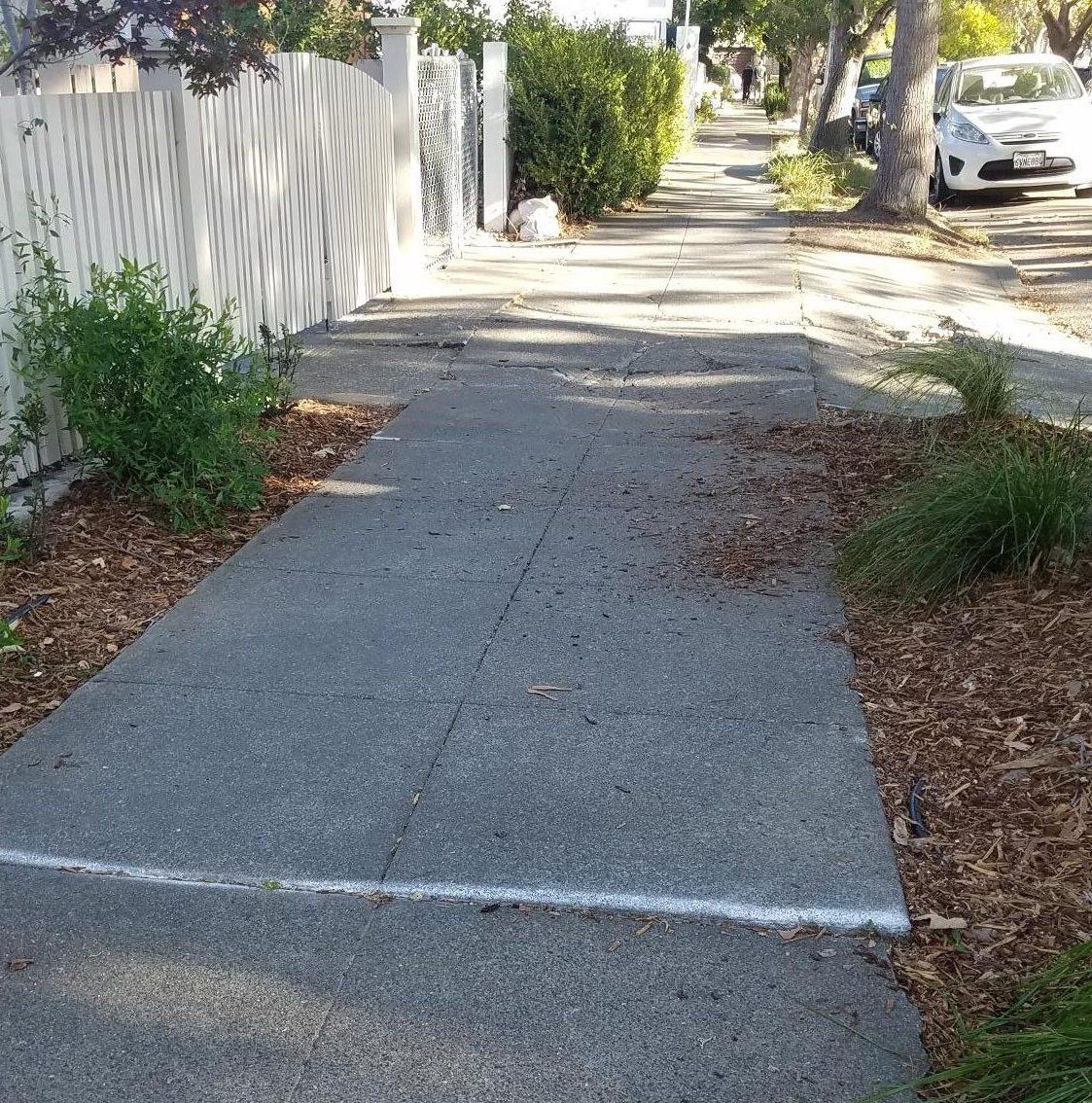 broken sidewalk 4