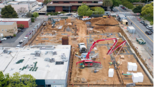 Public Safety Center May progress update picture