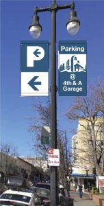 Light Pole Sign #1
