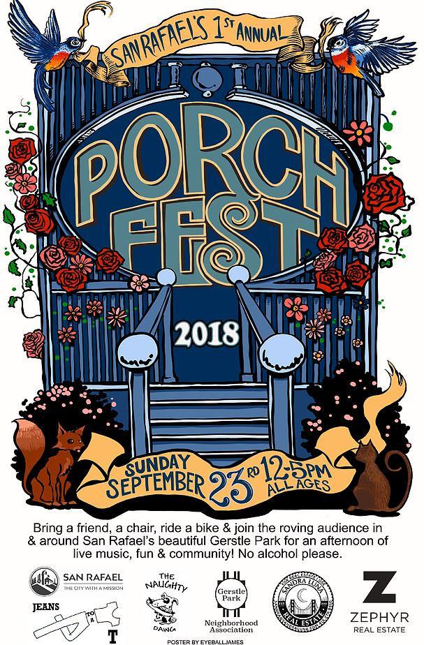 1st annual porch fest
