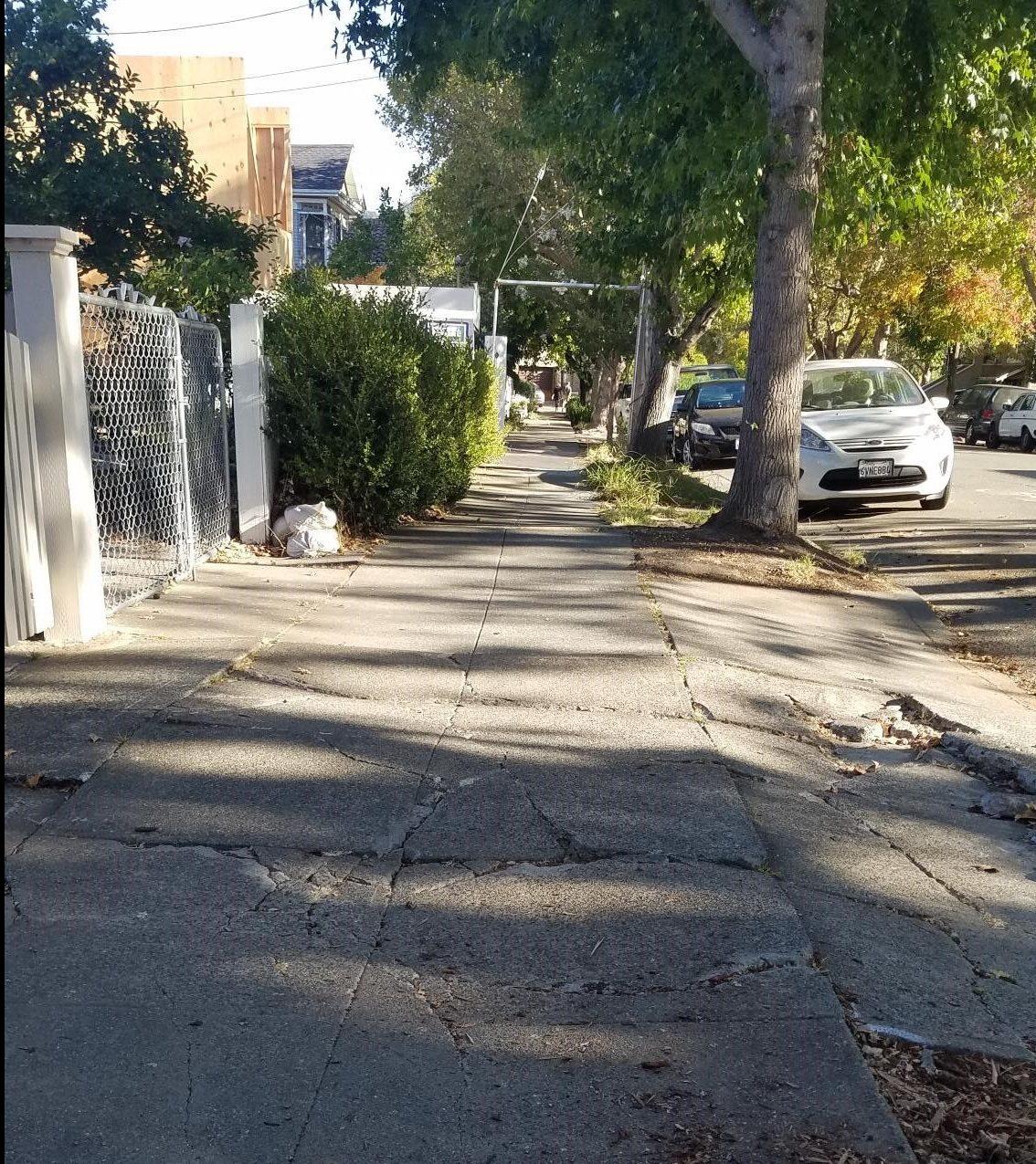 Broken sidewalk1