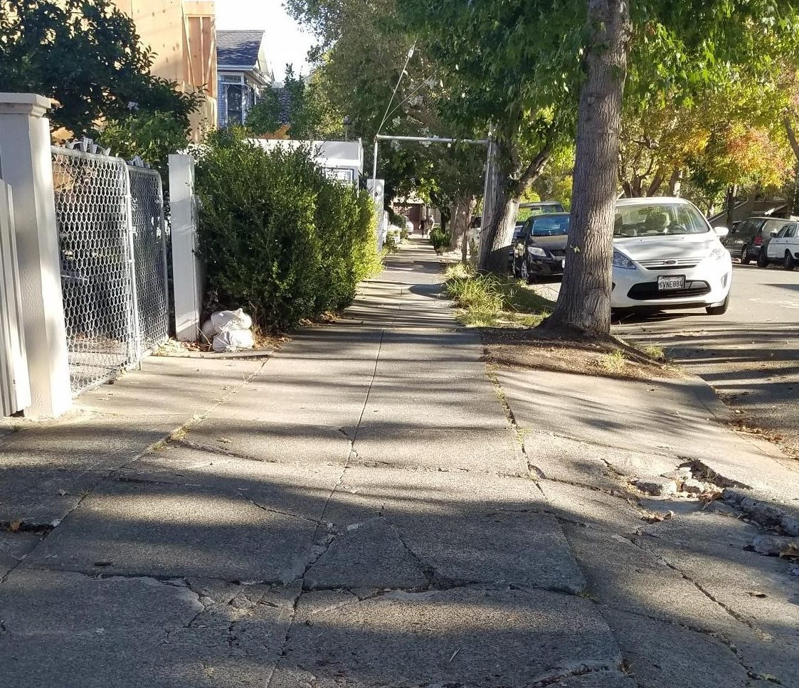 broken sidewalk 2