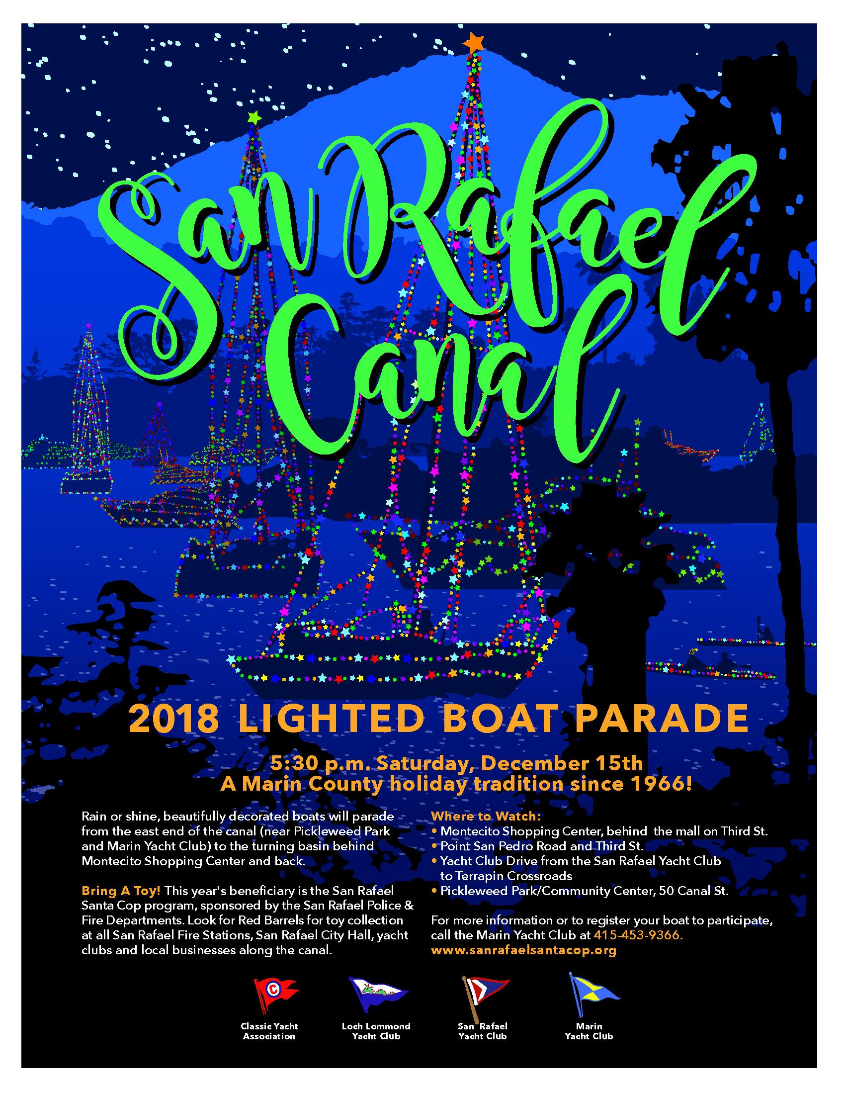 2018 Lighted Boat Parade Flier