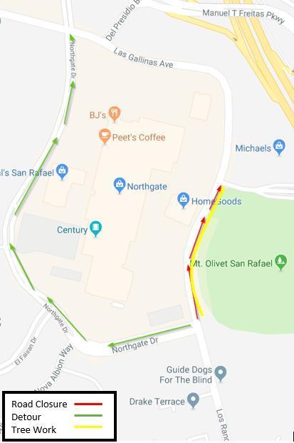 Street Closure Map 01-09-2019