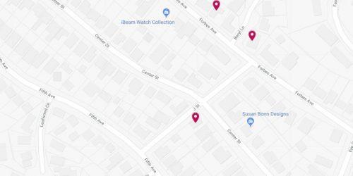 sidewalk construction map week 5