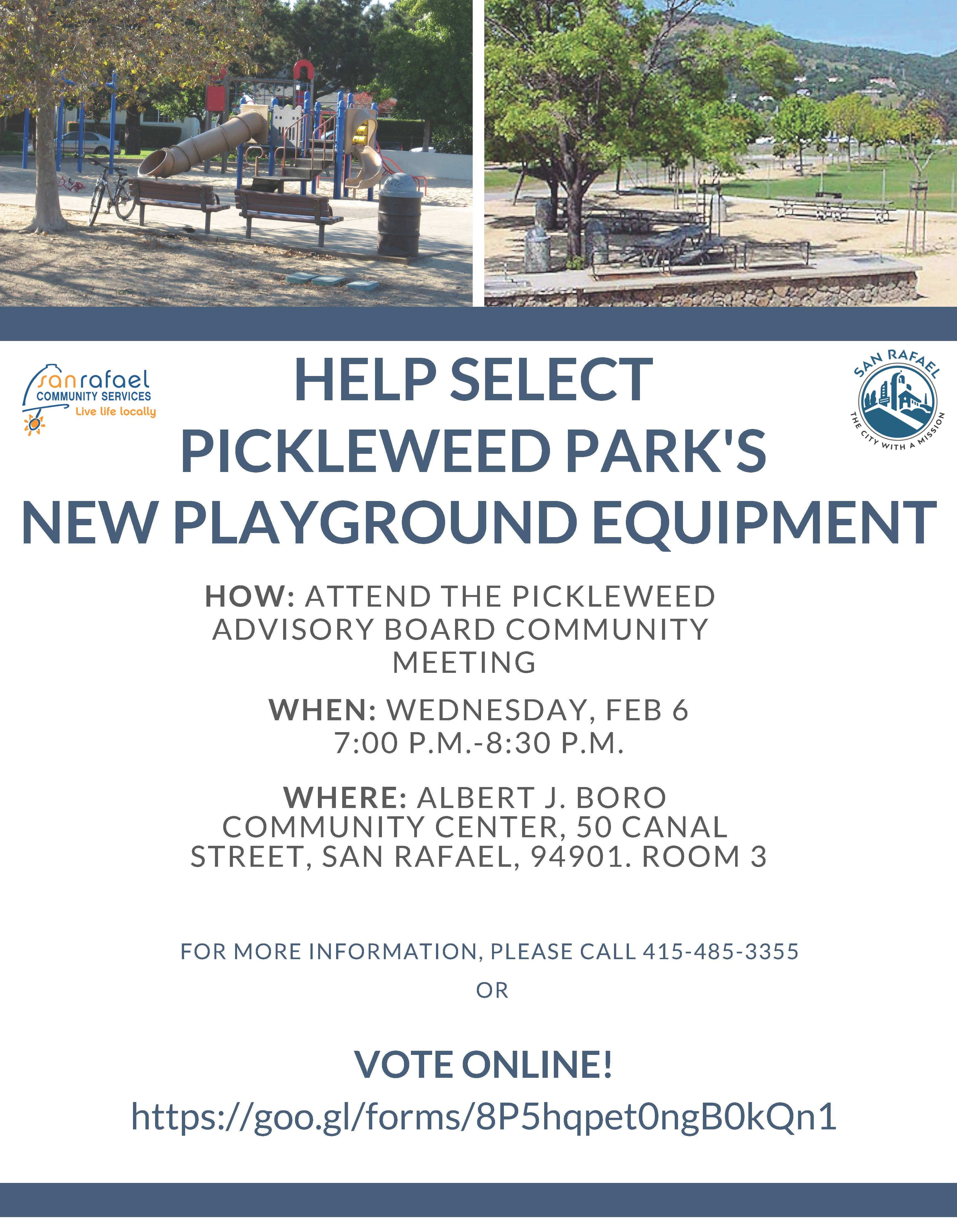 Pickleweed Meeting Flyer English