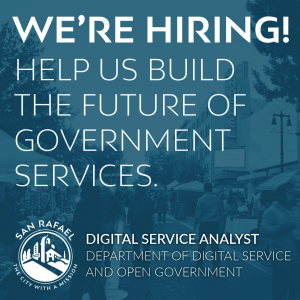 Now Hiring: Digital Service Analyst