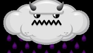 rain cloud evil