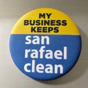 San Rafael Clean Button