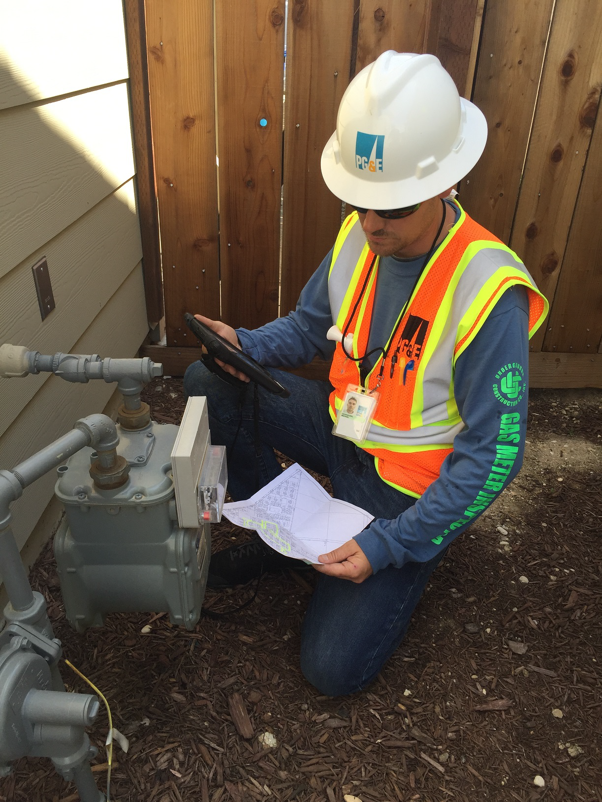 PG&E Inspection Invoice