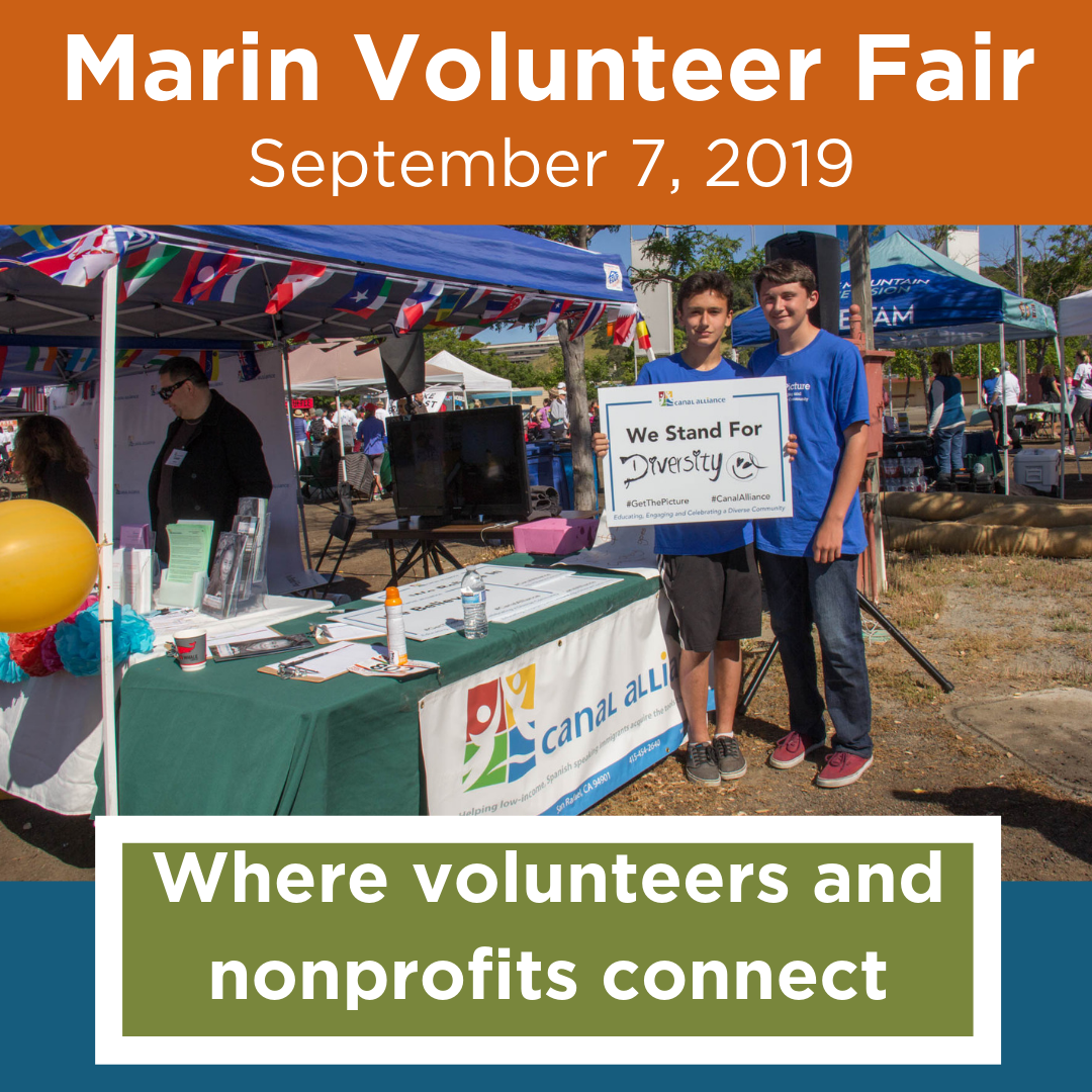 Marin Volunteer Fair