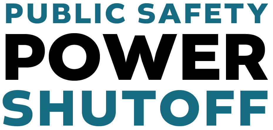Public Safety Power Shutoffs Logo
