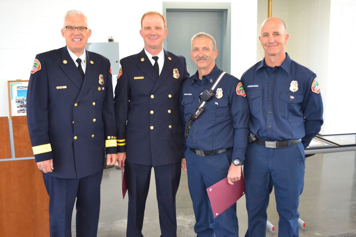SRFD Recognition Ceremony