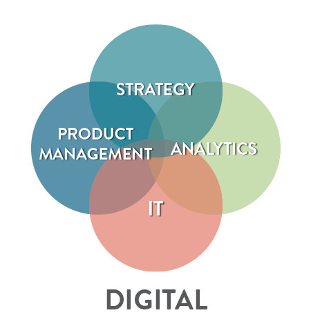 Digital: Strategy - Product Management - Analytics - IT