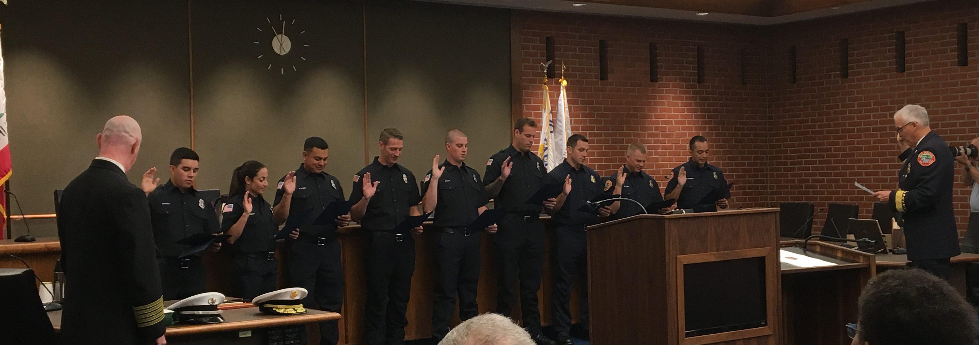 Firefighter Recruit Academy 19