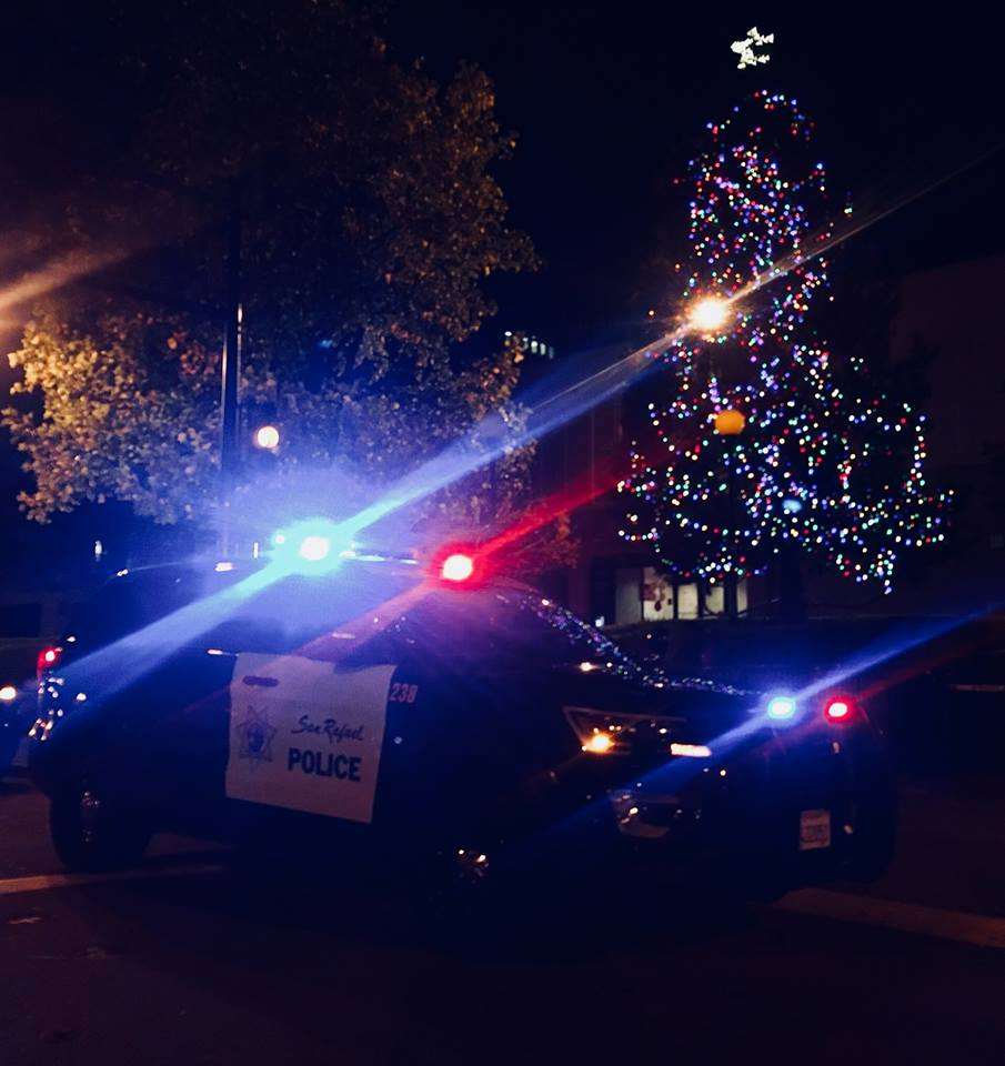 San Rafael Police Department Christmas