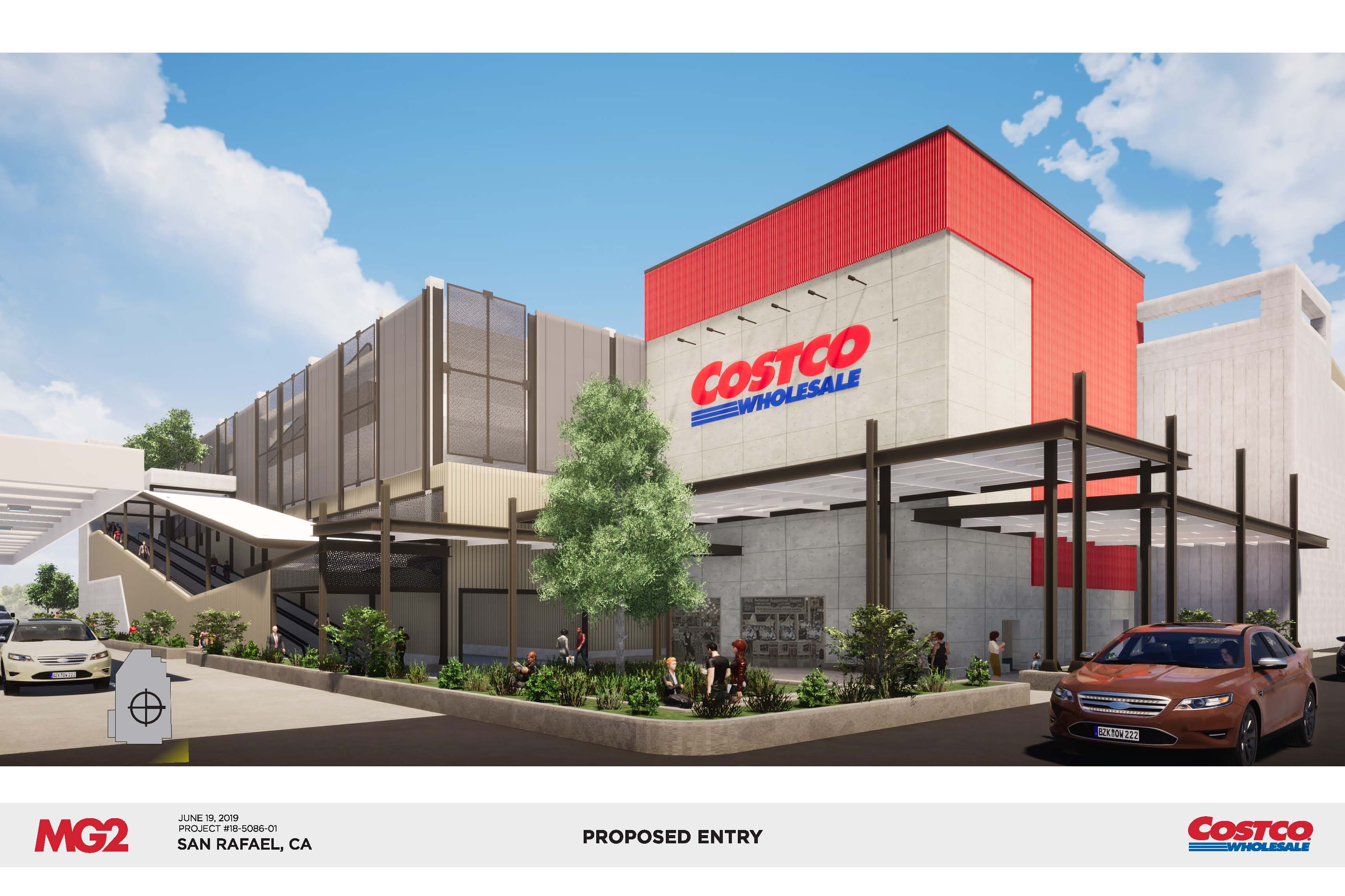 Costco Proposed Entry