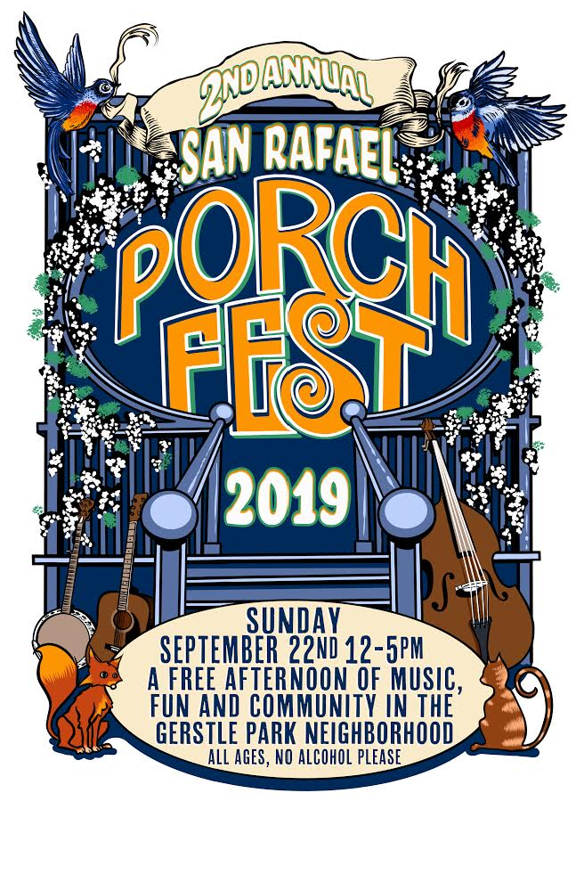 Porchfest 2019 Flier