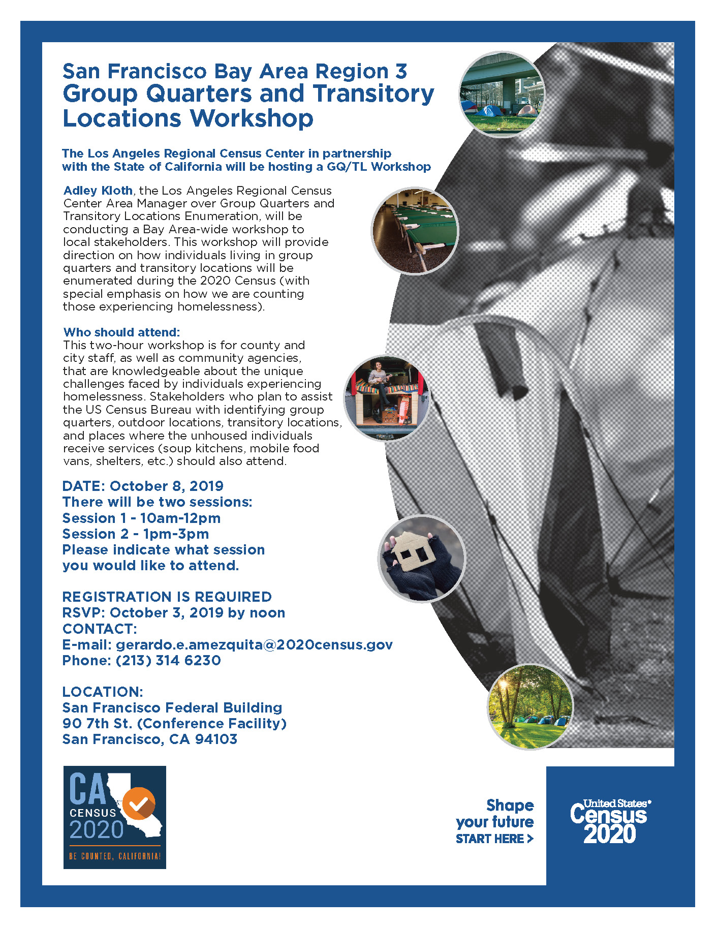 2020 Census Homeless Count Workshop